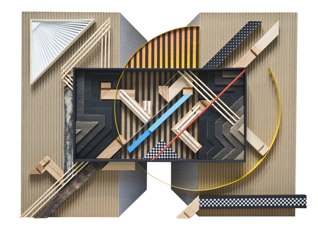 , 'Assemblage sur carton #03,' 2018, Mirus Gallery