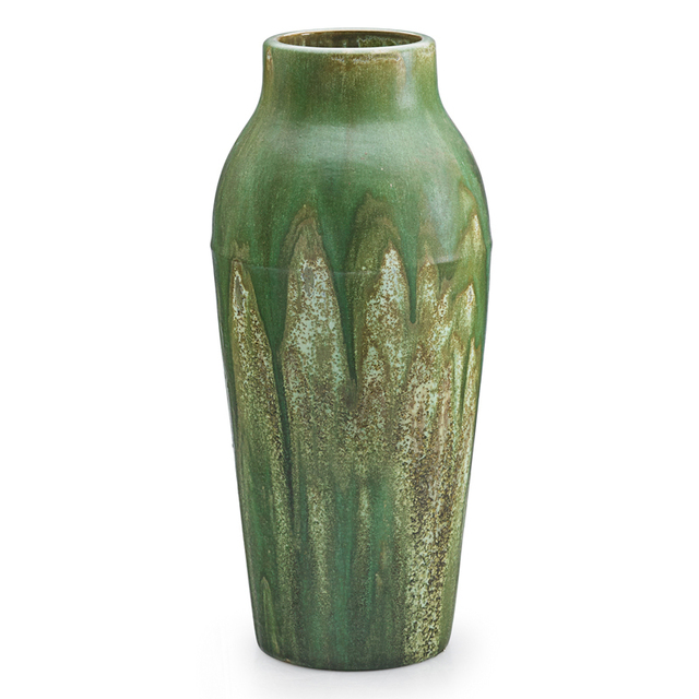 Fulper Pottery, 'Tall Vase, Flemington, NJ', 1910s-20s, Rago