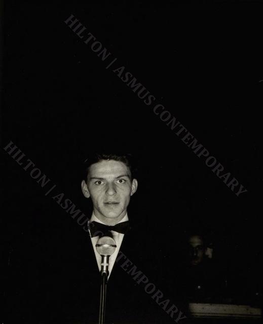, 'Frank Sinatra - Live from Rustic Cabin,' ca. 1938, Hilton Asmus