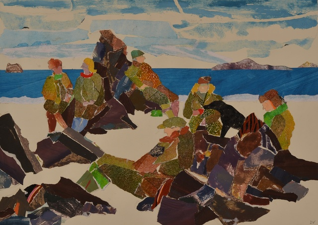 , 'After the Picnic, Iona,' 2014, Rebecca Hossack Art Gallery