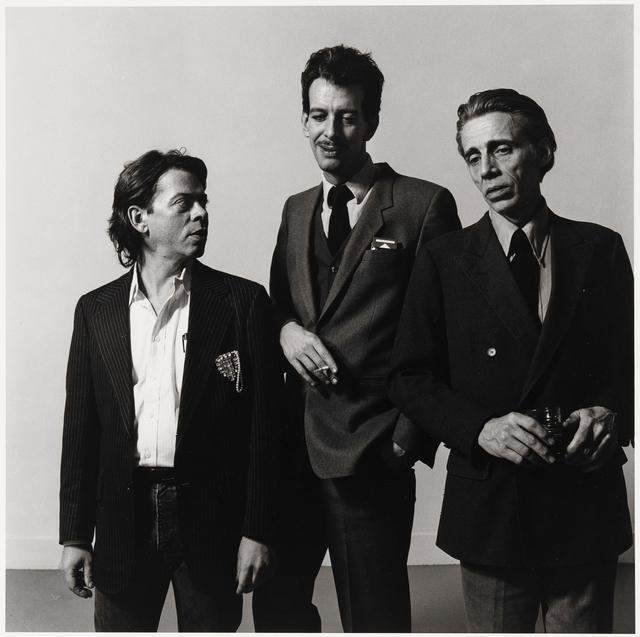 , 'Bill Rice, Larry Mitchell and Richard Morrison,' 1985, Alexander and Bonin