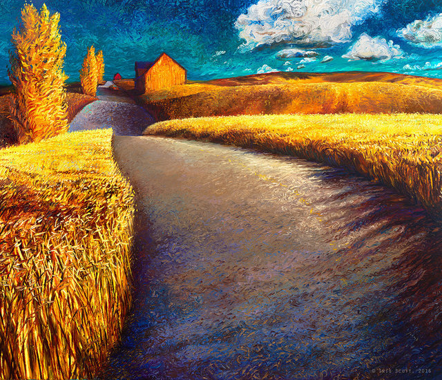 , 'Whispering Wheat | Artist Proof Print,' , Adelman Fine Art