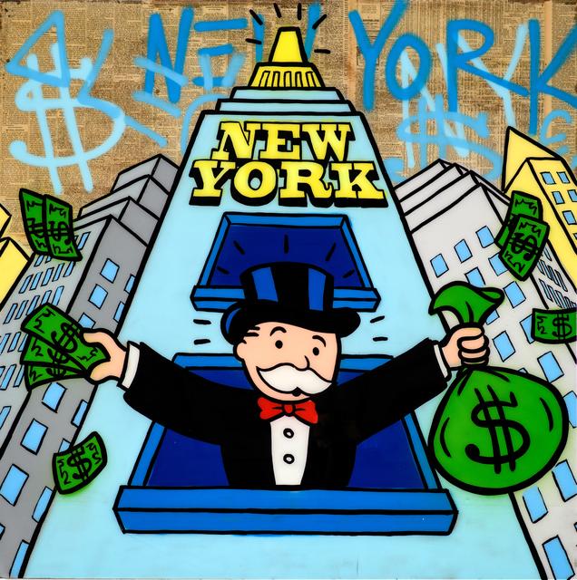, 'Monopoly Conquers New York ,' 2018, Eden Fine Art