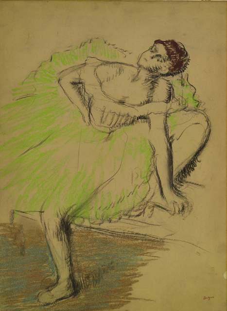 , 'Danseuse Assise,' 1897-1900, Browse & Darby