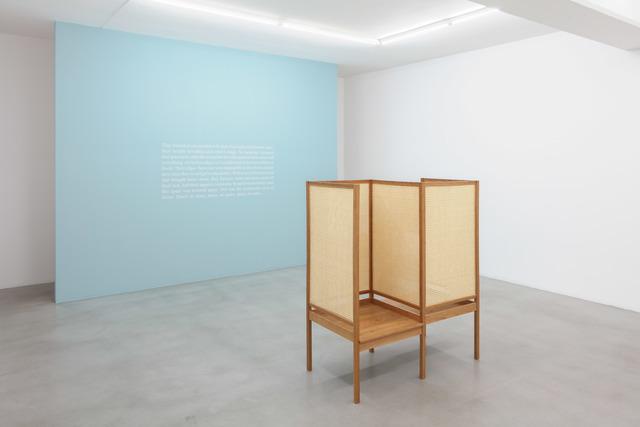 , 'The Space Between Us,' 2017, Galerie Nordenhake