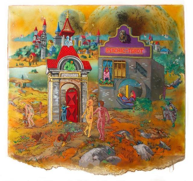 , 'Psychic Tarot,' 2015, Linda Warren Projects