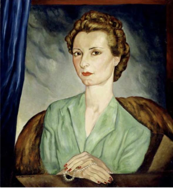 , 'Retrato de María Ugarte de Bava,' 1935, Galeria Enrique Guerrero