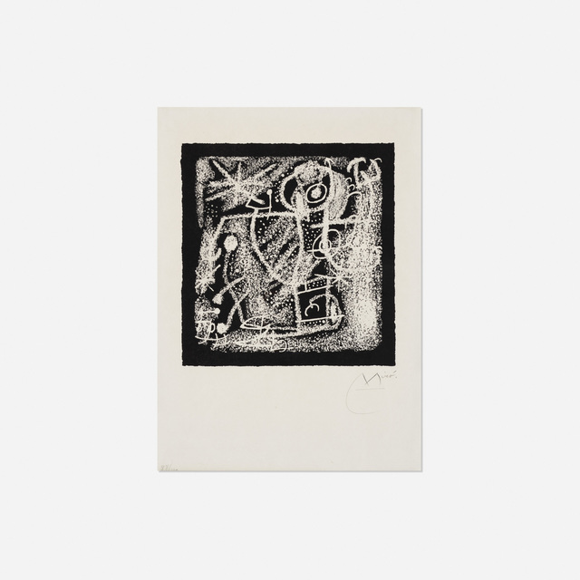 Joan Miró, 'Les Essencies de la Terra (one plate)', 1968, Rago/Wright