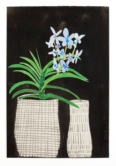 , 'Untitled (Blue Orchid),' 2011, Patrick De Brock Gallery