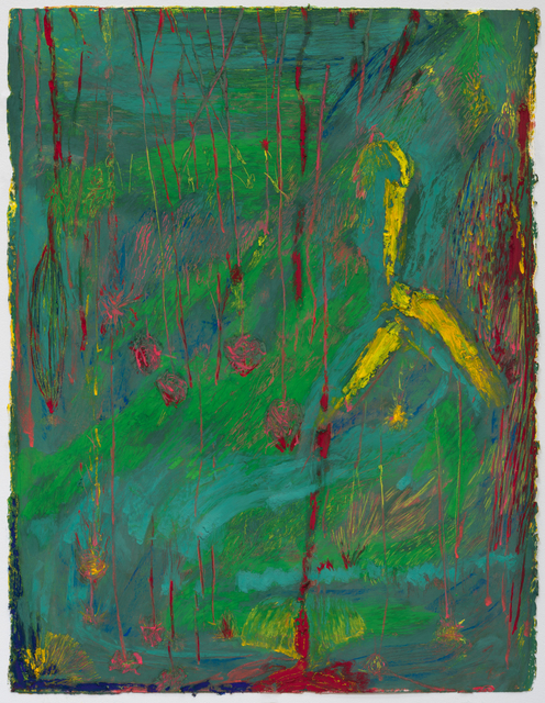 , 'Pour (green),' 2015, Shane Campbell Gallery