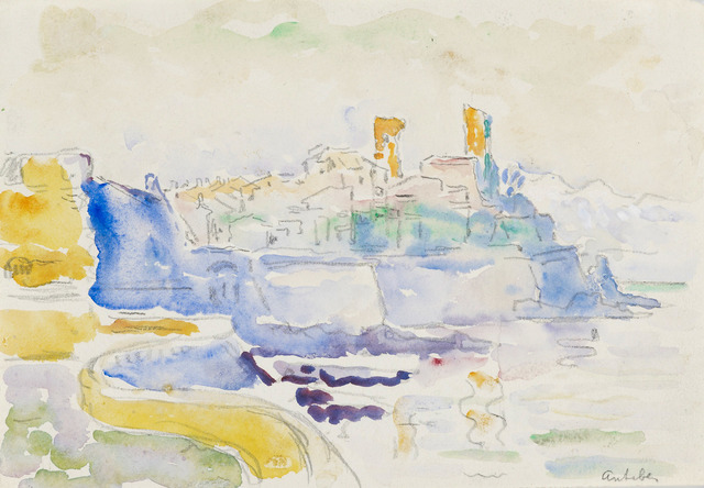 Paul Signac, 'Vue d'Antibes', ca. 1918-1919, Stoppenbach & Delestre