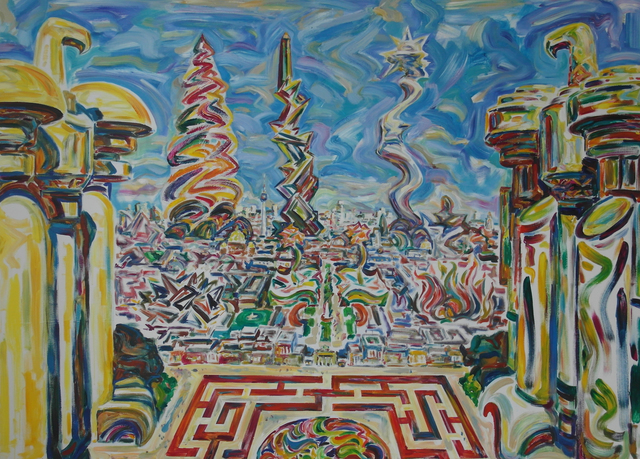 ", '""Brandenburger Tor"",' 2015, Krokin Gallery"