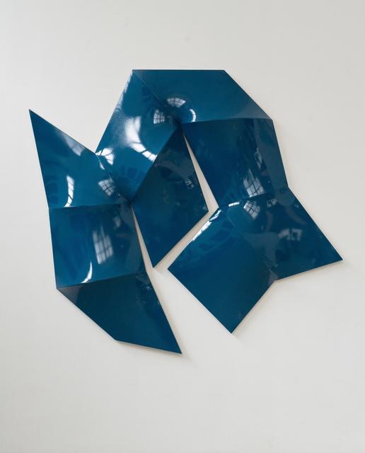 , 'Improved Dynamic Monochrome sea blue,' 2015, Sebastian Fath Contemporary