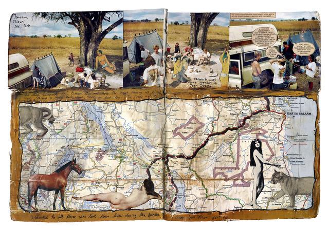 Dan Eldon, 'Gauguin in Africa', 2017, Trotta-Bono Contemporary