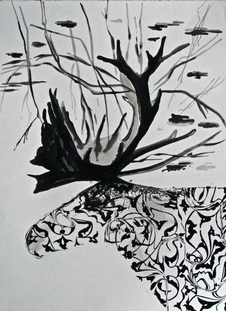 , 'Botanical Deer,' 2014, Mario Mauroner Contemporary Art Salzburg-Vienna