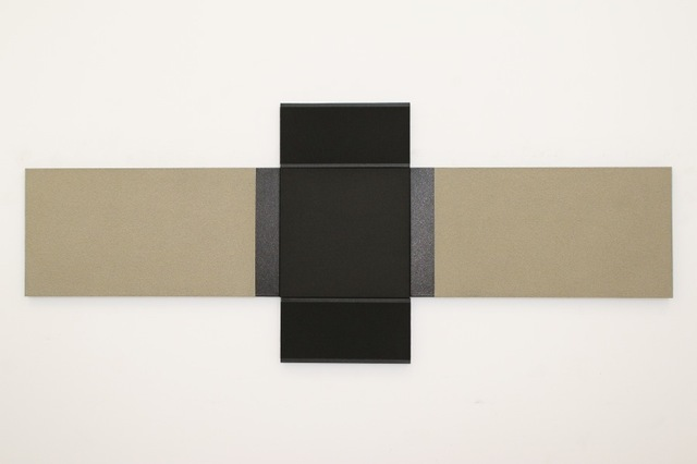 , 'Black painting no. 36,' 2017, Joshua Tree Art Gallery