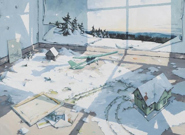 , 'Atelier (Thüringerwald),' 2017, Galerie Fons Welters