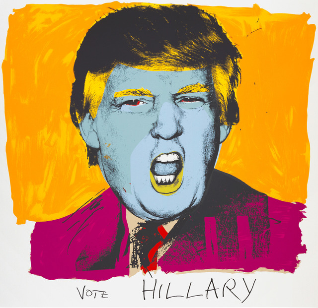 , 'Vote Hillary,' 2015, Brand New Gallery
