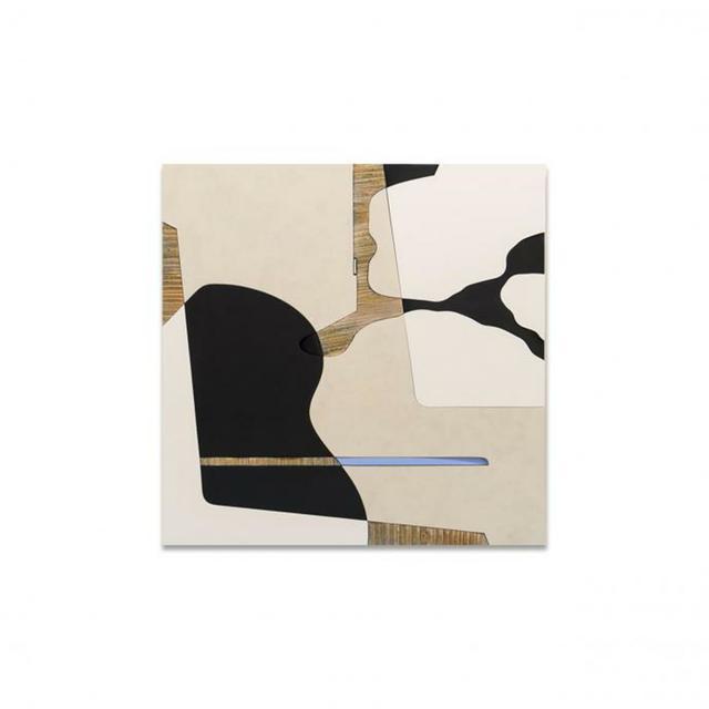 , 'VERVE ON BLUE 1,' , Exhibit by Aberson