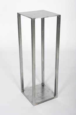 Benjamin Rollins Caldwell, 'Simply Stainless Pedestal Stand', 2010