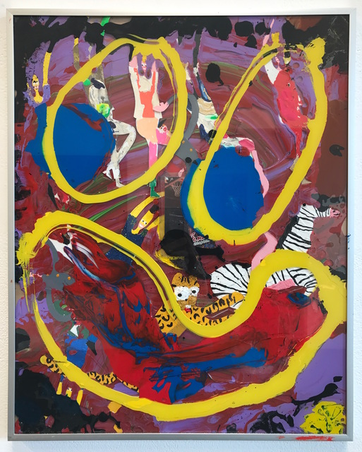 """, 'Ikea abstractions/portraiture (in this case portraiture) #87 """"wipe ya upper lip with that smile"""",' 2016, Richard Heller Gallery"""