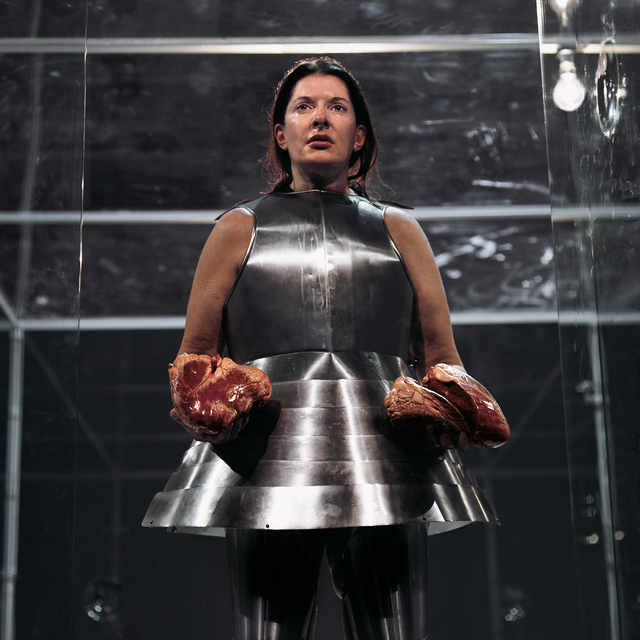 , 'Virgin Warrior - Two Hearts (Performance with Jan Fabre),' 2006, Galerie Krinzinger