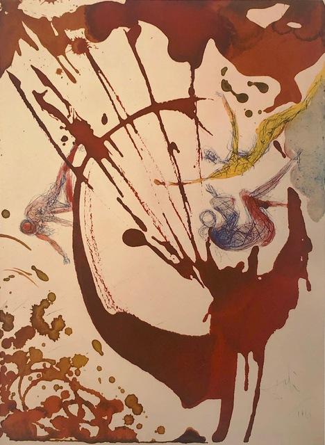 Salvador Dalí, 'In The Beginning, 'In Principio', Biblia Sacra', 1967, Mixed Media, Original Lithograph, Inviere Gallery