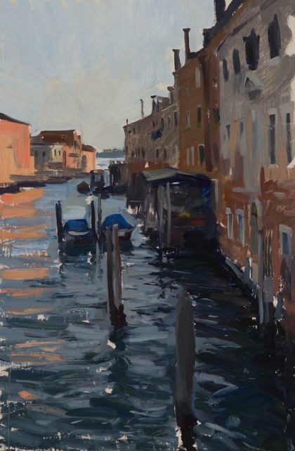 , 'Afternoon Canal,' 2015, Grenning Gallery