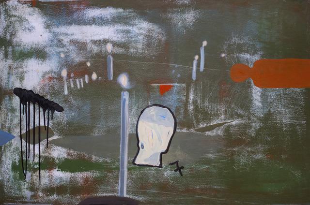 , 'Goodbye From Us,' 2017, C. Grimaldis Gallery