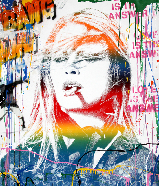 Mr. Brainwash, 'Brigitte Bardot', 2018, Denis Bloch Fine Art