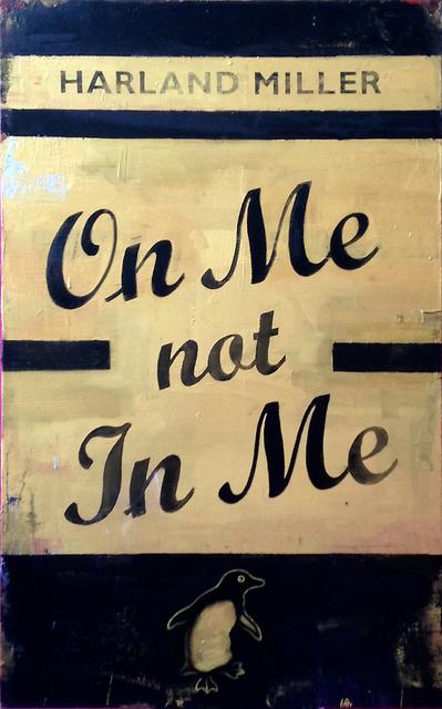 , 'On Me Not In Me,' 2015, Ingleby Gallery