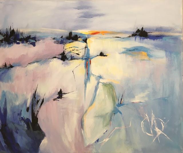 , 'Glacier land ,' 2018, Lotus Art Gallery