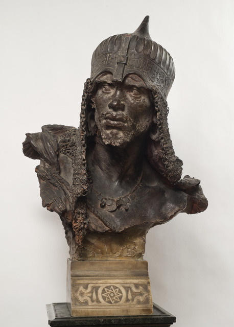 , 'Bust of a Moor ,' 1887, Benappi Fine Art