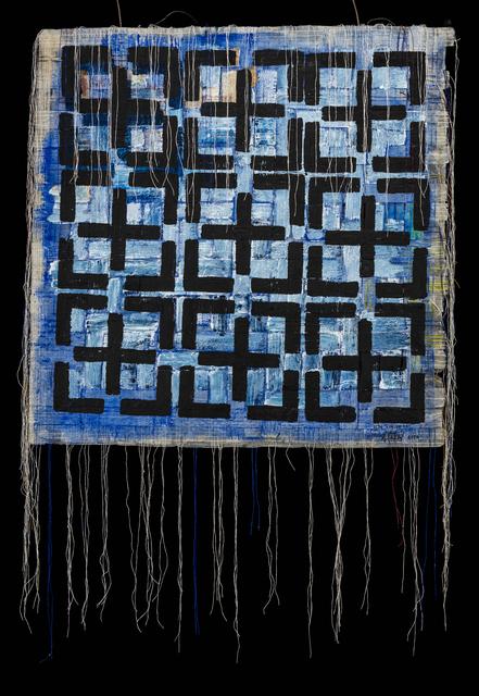 Olga de Amaral, 'Nebula 16', 2016, Bellas Artes Gallery
