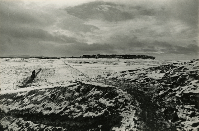 , 'A Farm Village in Winter,' ca. 1955-printed later, Be-hold