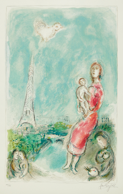 Marc Chagall, 'Maternité rouge (Red Maternity)', 1980, Phillips