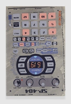 , 'Roland SP-404 Playing Bank D, Pads 1, 4, 5, 9, 12,' 2014, APALAZZOGALLERY