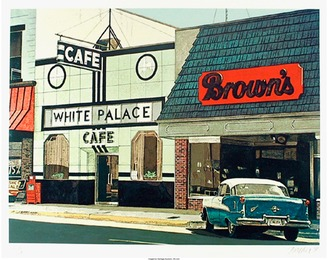 John Baeder, 'White Palace Cafe,' 1980, Heritage Auctions: Valentine's Day Prints & Multiples