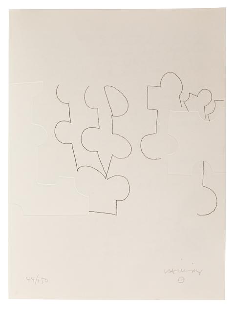 Eduardo Chillida, 'Emile M. Cioran: Ce maudit moi IV', 1983, Zeit Contemporary Art
