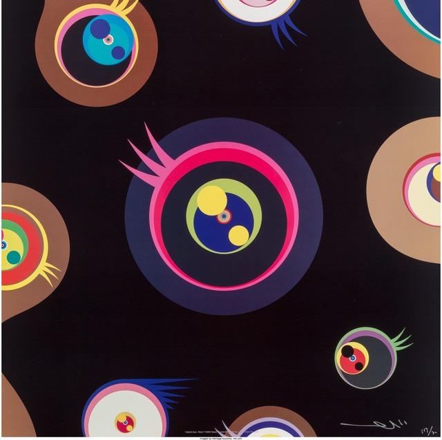 Takashi Murakami, 'Jellyfish Eyes 1, 2, 3, and 5 (four works)', 2004, Heritage Auctions