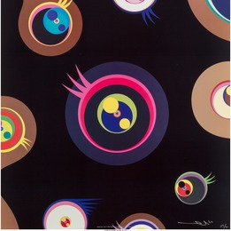 Takashi Murakami, 'Jellyfish Eyes 1, 2, 3, and 5 (four works),' 2004, Heritage Auctions: Valentine's Day Prints & Multiples