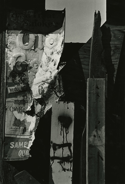 , 'Abstract Metal Sign, New York,' 1965, Steven Kasher Gallery