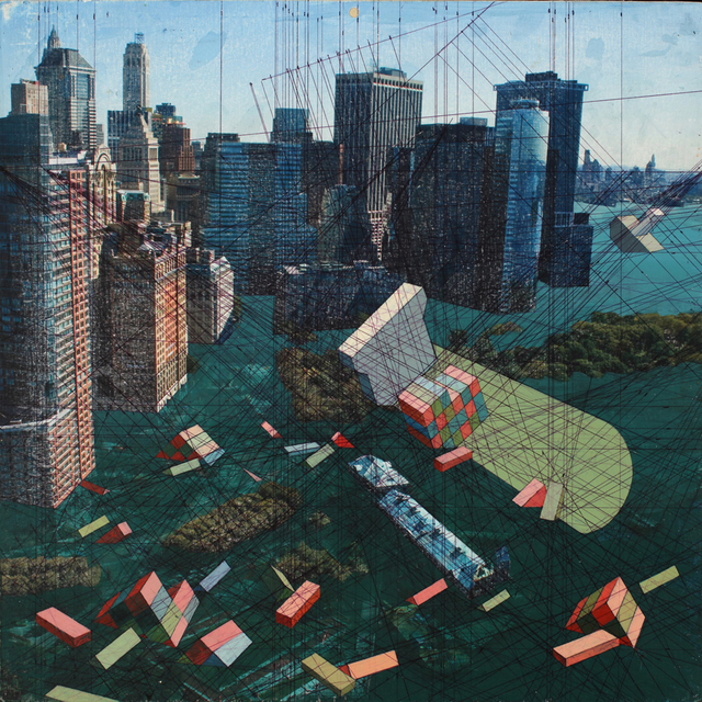 , 'Battery Park,' 2013, G. Gibson Gallery