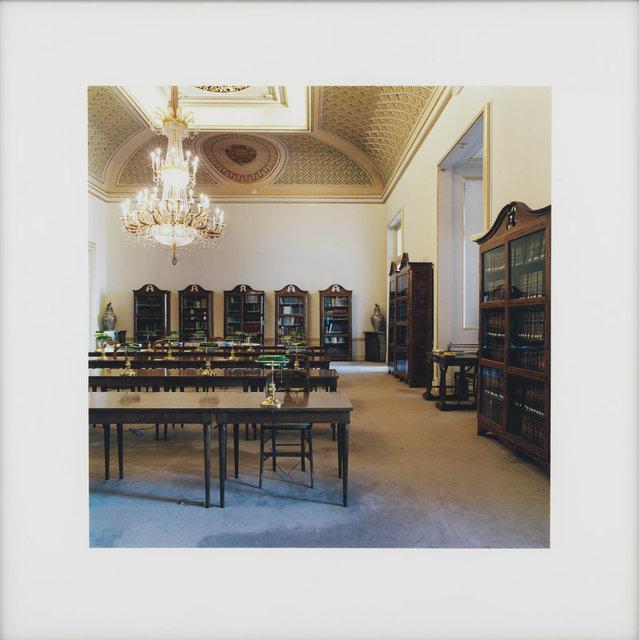 , 'Bibliothek Madrid IV,' 2000, Ludorff