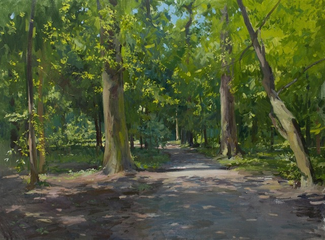 , 'Path in Maksimir,' 2014, Grenning Gallery
