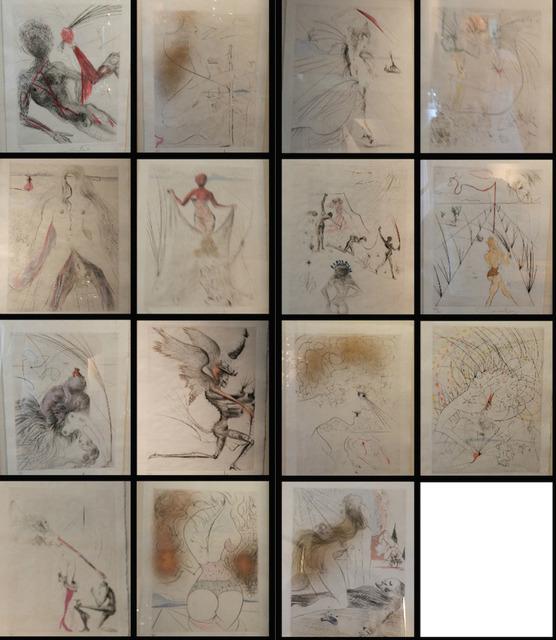 Salvador Dalí, 'La Venus aux Fourrures Complete matched numbered suite', 1968, Fine Art Acquisitions