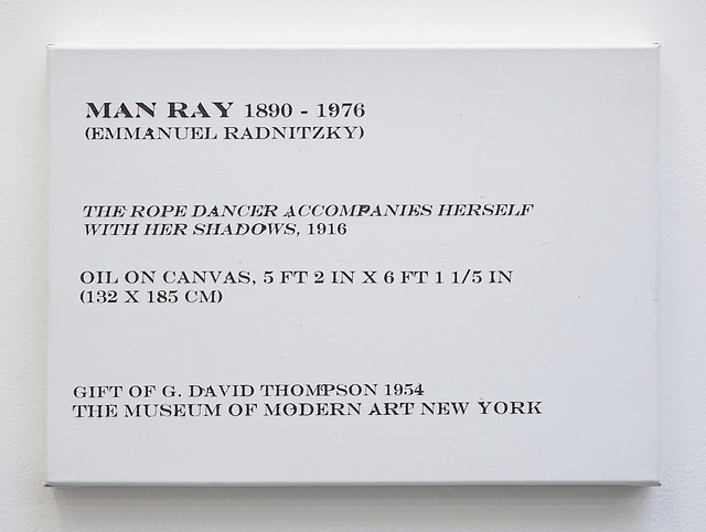 , 'LCM, Man Ray,The Rope Dancer Accompanies Herself with Her Shadows, 1916,' 2009, OSL Contemporary