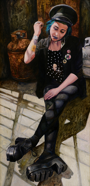 , 'Black No. 1,' 2015, Abend Gallery