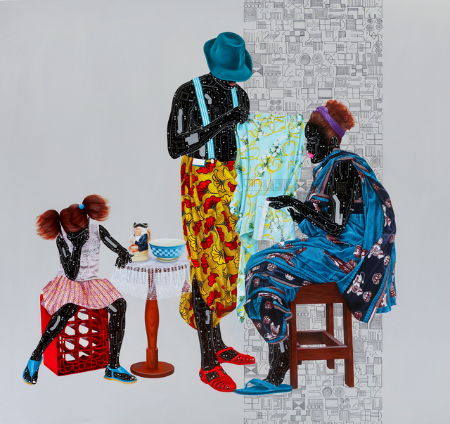 Eddy Kamuanga Ilunga, 'Fragile 5', 2018, October Gallery