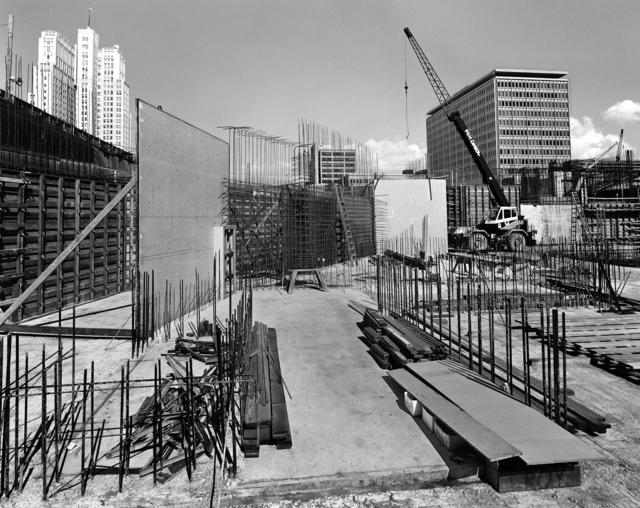 , 'Construction Northeastern Wall,' 1980, Anglim Gilbert Gallery